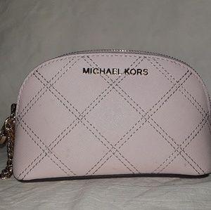 Michael Kors makeup cosmetics zip pouch